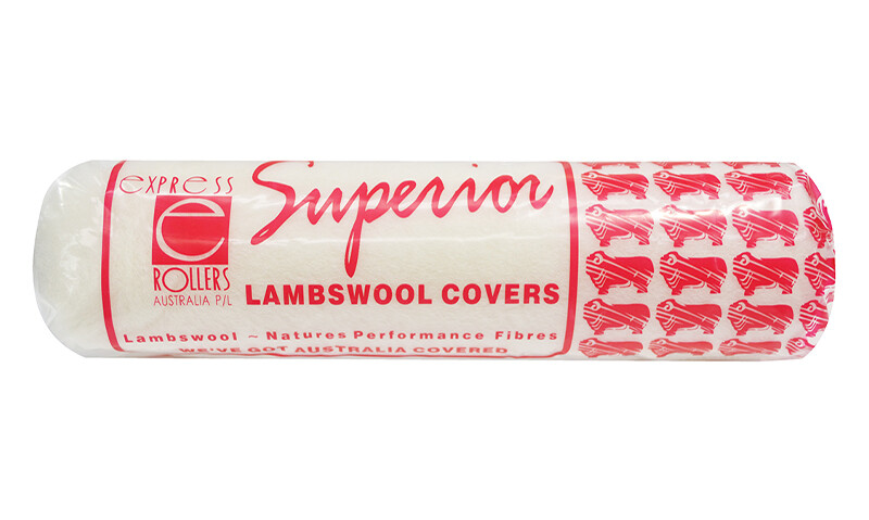 Superior Lambswool Roller Cover -  Long Nap 24mm