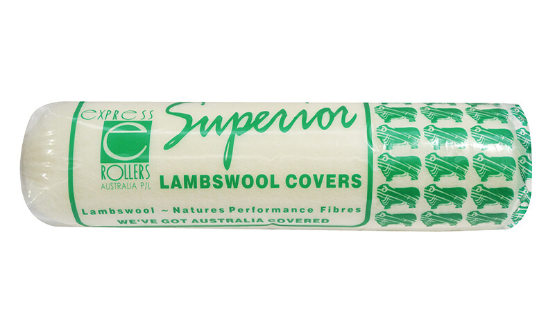 Superior Lambswool Roller Covers - Rxtra Long Nap 28mm